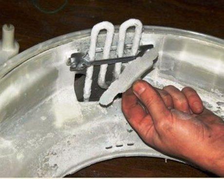 Как избавиться от накипи в стиральной машине