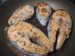 жареный лосось рецепты