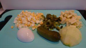 салат с курицей рецепт с фото