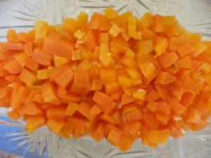 2-й слой морковь