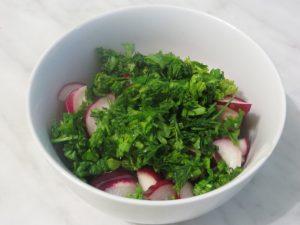 салат из редиски фото