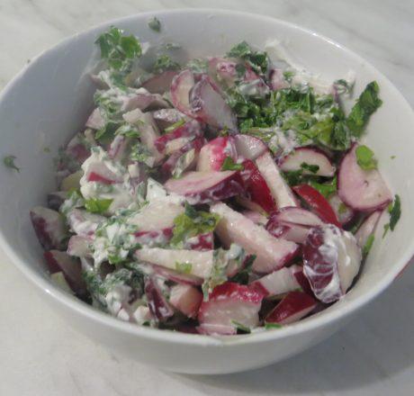 салат с редиской рецепты