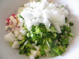 простой крабовый салат