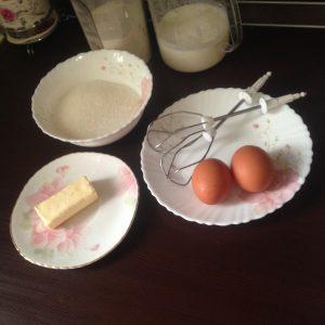 бисквитный корж ванильный