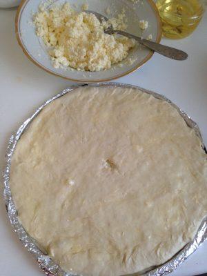 осетинский пирог с творогом