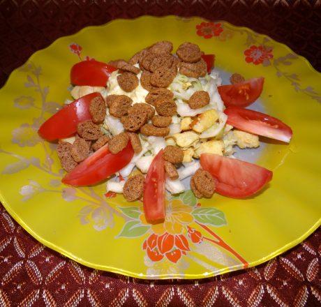 """Знаменитый салат """"Цезарь"""": прост, как все гениальное!"""