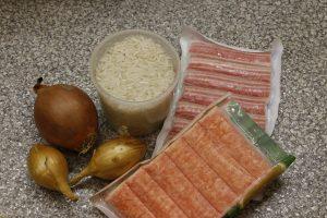 крабовый салат рецепт с фото
