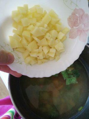 легкий суп рецепт