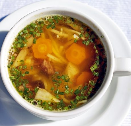 Рецепт супа с овощами