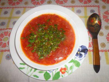 Рецепт вкусного борща