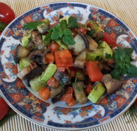 Соте овощное «Рагу из синей птицы»