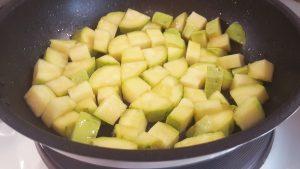 овощное соте с кабачками