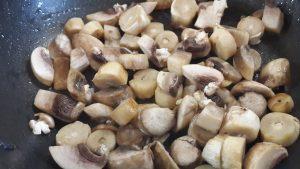 Соте овощное - грибы
