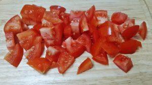 Соте овощное - томаты