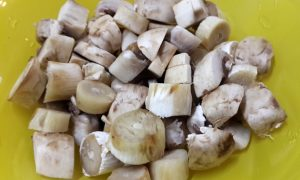 перловый плов с грибами