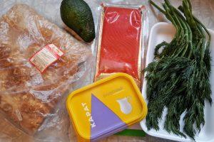 рулет из лаваша с филе рыбы и авокадо 1