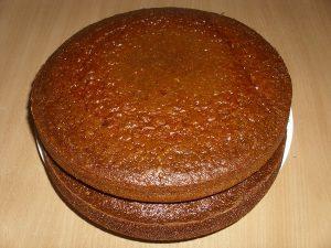 домашний торт коржи
