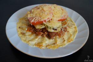 Мусака с картофелем и свининой (ПОРЦИОННАЯ)