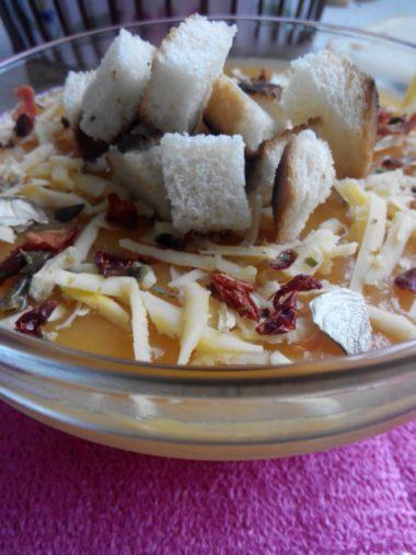 тыквенный крем суп постный