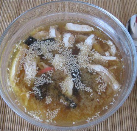 Быстрый Мисо суп