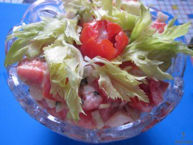 салата «Море витаминов»