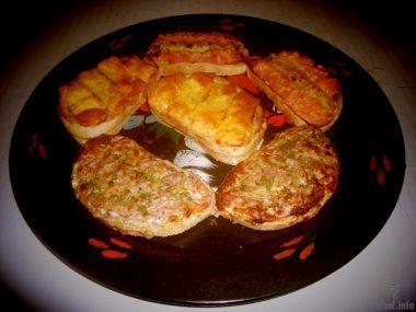 Горячие бутерброды (к завтраку)