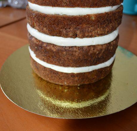 Морковный бисквит для тортов