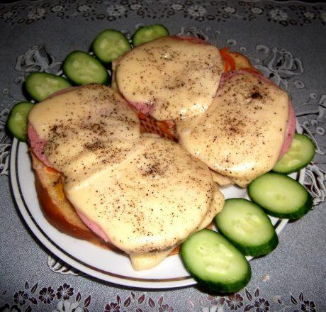 Сырно-ветчинные «Пикантные» гренки