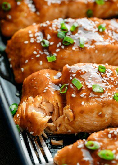 Рыба в соусе терияки в духовке
