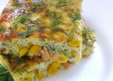 Блюда из консервированной кукурузы - рецепты с фото
