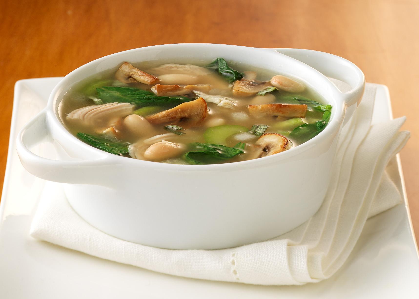Рецепт простого грибного супа — 8