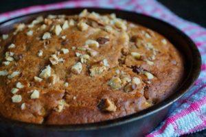 Кекс с изюмом и орехами рецепт