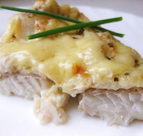 Рыба яйцо сыр