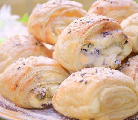 Воздушное печенье с творожной начинкой
