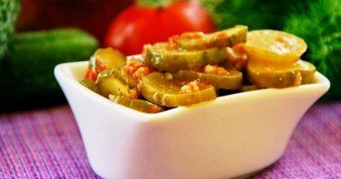 Рецепт огурцов с кавказской аджикой