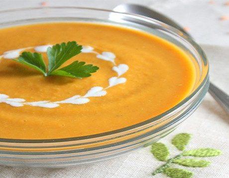 Азербайджанский суп из чечевицы