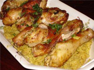 Курица по-болгарски