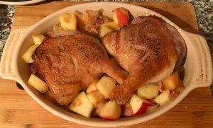 Рецепт окорочков утки
