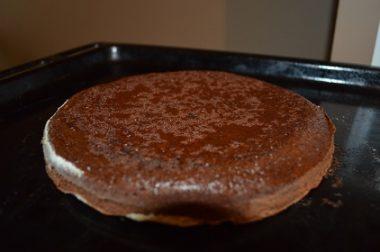 Кофейно-шоколадный бисквит