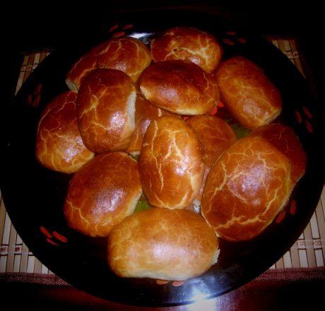 Духовые пирожки (пасхальные)