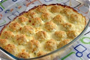 Куриные шарики в сырном соусе рецепт