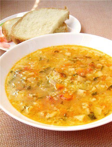 Суп с пшеном рецепт