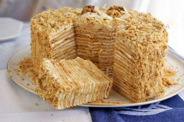 Торт наполеон на сковороде рецепт