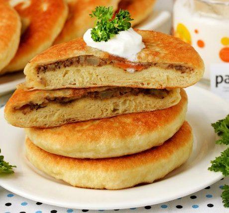 Пирожки жареные с печенью рецепт