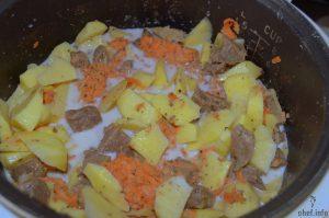 говядина тушеная с картошкой фото