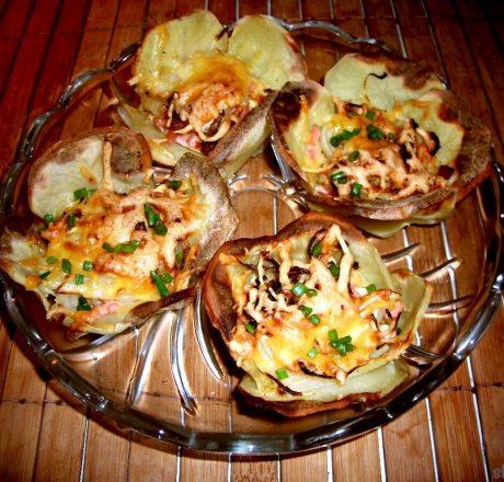 картофельные корзинки