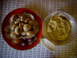 зразы картофельные с грибами рецепт пошагово
