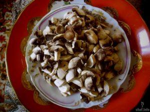 картофельные зразы с грибами пошагово