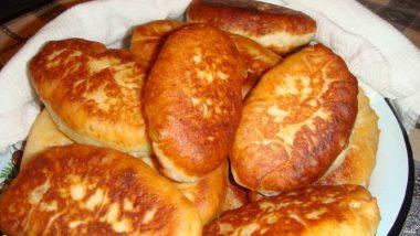 Рецепты жареных пирожков с грибами