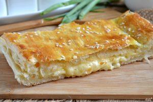 Сырное слоеное тесто